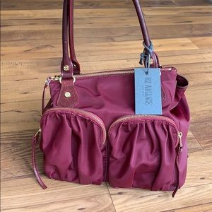 MZ Wallace Jane Tote Ruby Bedford